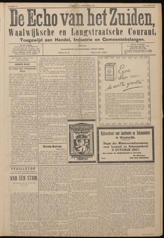 Echo van het Zuiden 1927-09-17
