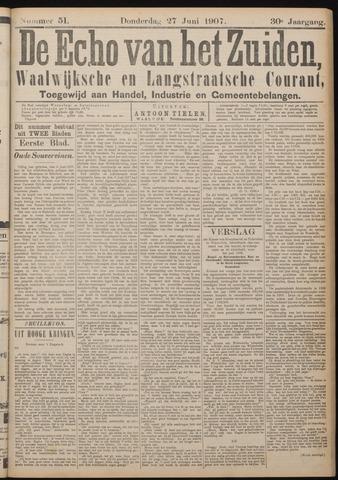 Echo van het Zuiden 1907-06-27