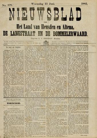 Nieuwsblad het land van Heusden en Altena de Langstraat en de Bommelerwaard 1883-06-13