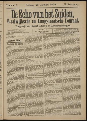 Echo van het Zuiden 1898-01-23