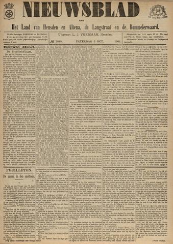 Nieuwsblad het land van Heusden en Altena de Langstraat en de Bommelerwaard 1901-10-05