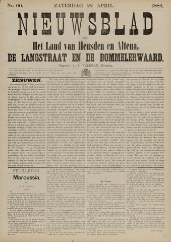Nieuwsblad het land van Heusden en Altena de Langstraat en de Bommelerwaard 1882-04-22