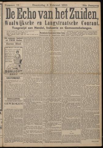 Echo van het Zuiden 1913-02-06