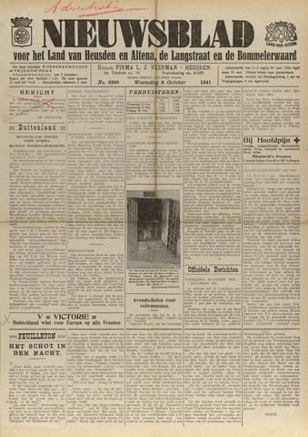 Nieuwsblad het land van Heusden en Altena de Langstraat en de Bommelerwaard 1941-10-08