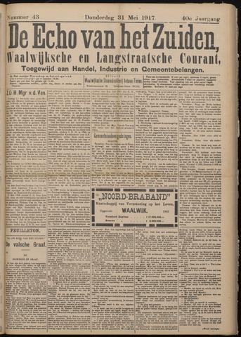 Echo van het Zuiden 1917-05-31