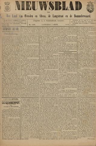 Nieuwsblad het land van Heusden en Altena de Langstraat en de Bommelerwaard 1895-09-07