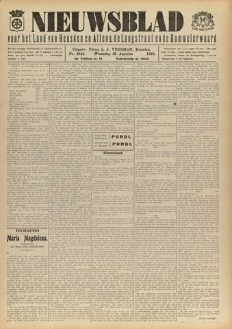 Nieuwsblad het land van Heusden en Altena de Langstraat en de Bommelerwaard 1928-08-29