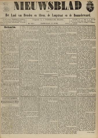 Nieuwsblad het land van Heusden en Altena de Langstraat en de Bommelerwaard 1893-06-17