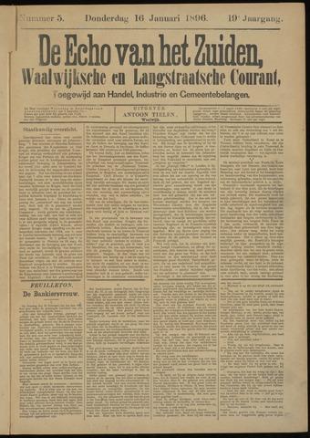 Echo van het Zuiden 1896-01-16