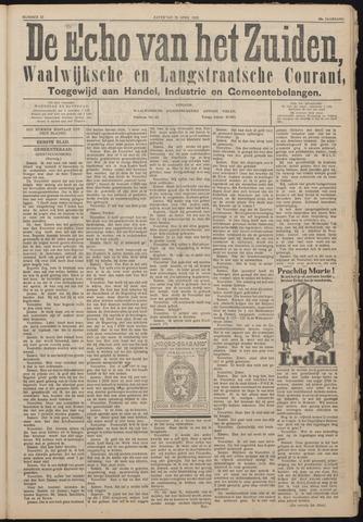 Echo van het Zuiden 1925-04-25