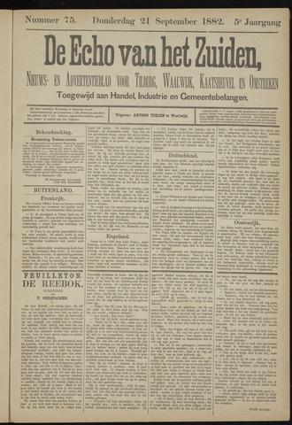 Echo van het Zuiden 1882-09-21