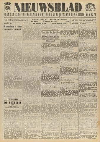 Nieuwsblad het land van Heusden en Altena de Langstraat en de Bommelerwaard 1929-06-12