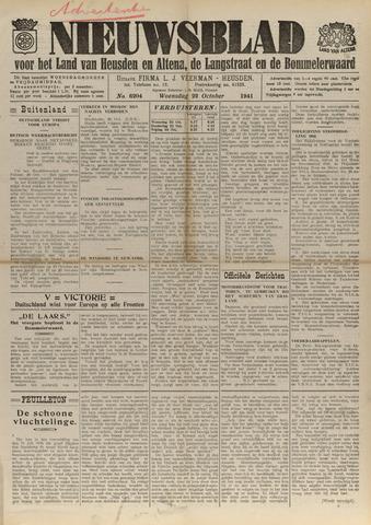 Nieuwsblad het land van Heusden en Altena de Langstraat en de Bommelerwaard 1941-10-22