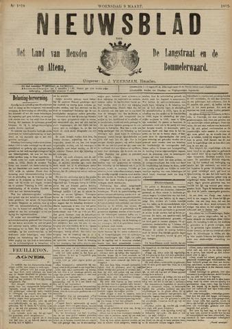 Nieuwsblad het land van Heusden en Altena de Langstraat en de Bommelerwaard 1892-03-09