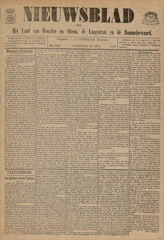 Nieuwsblad het land van Heusden en Altena de Langstraat en de Bommelerwaard 1896-08-22