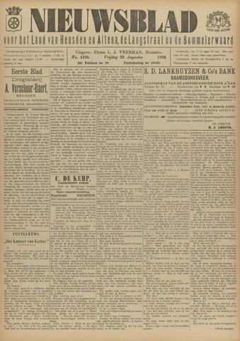 Nieuwsblad het land van Heusden en Altena de Langstraat en de Bommelerwaard 1924-08-29
