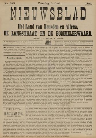 Nieuwsblad het land van Heusden en Altena de Langstraat en de Bommelerwaard 1885-06-06