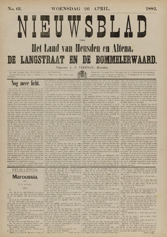 Nieuwsblad het land van Heusden en Altena de Langstraat en de Bommelerwaard 1882-04-26