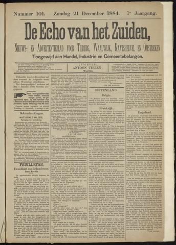 Echo van het Zuiden 1884-12-21