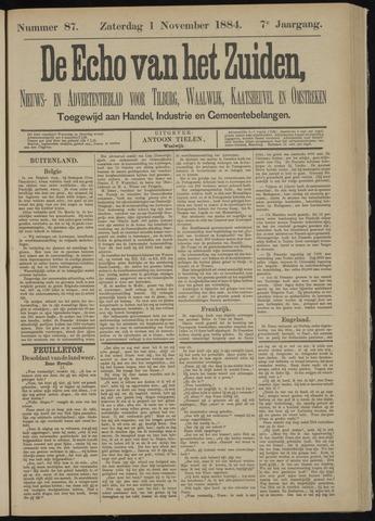 Echo van het Zuiden 1884-11-01