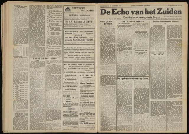Echo van het Zuiden 1948-10-28