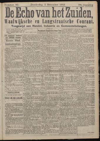 Echo van het Zuiden 1915-12-02