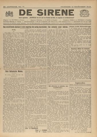 De Sirene 1945-11-12