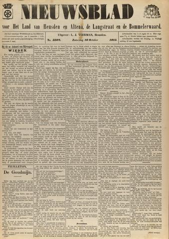 Nieuwsblad het land van Heusden en Altena de Langstraat en de Bommelerwaard 1915-10-16