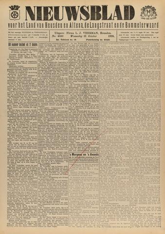 Nieuwsblad het land van Heusden en Altena de Langstraat en de Bommelerwaard 1928-10-31