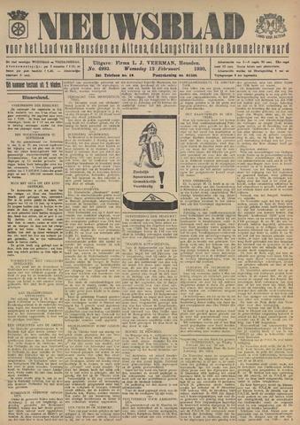 Nieuwsblad het land van Heusden en Altena de Langstraat en de Bommelerwaard 1930-02-12