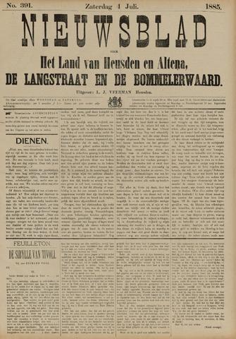 Nieuwsblad het land van Heusden en Altena de Langstraat en de Bommelerwaard 1885-07-04