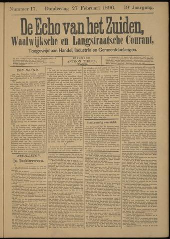 Echo van het Zuiden 1896-02-27