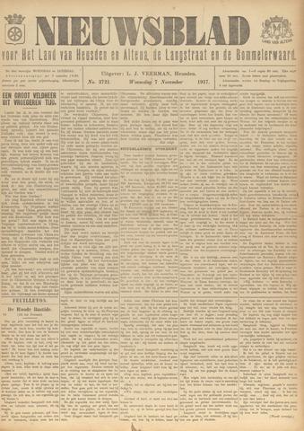 Nieuwsblad het land van Heusden en Altena de Langstraat en de Bommelerwaard 1917-11-07
