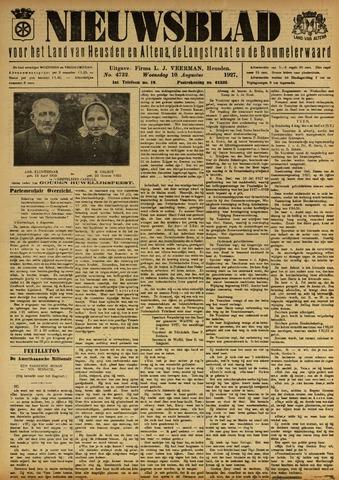 Nieuwsblad het land van Heusden en Altena de Langstraat en de Bommelerwaard 1927-08-10