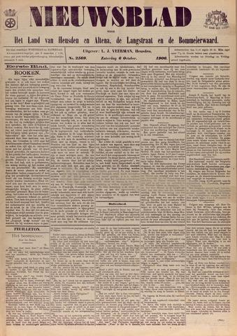 Nieuwsblad het land van Heusden en Altena de Langstraat en de Bommelerwaard 1906-10-06
