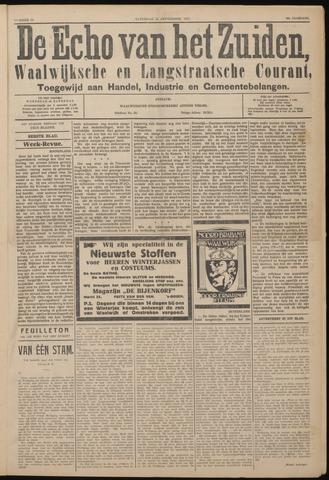Echo van het Zuiden 1927-09-24