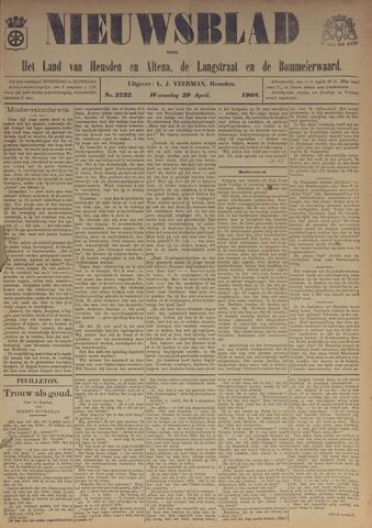 Nieuwsblad het land van Heusden en Altena de Langstraat en de Bommelerwaard 1908-04-29
