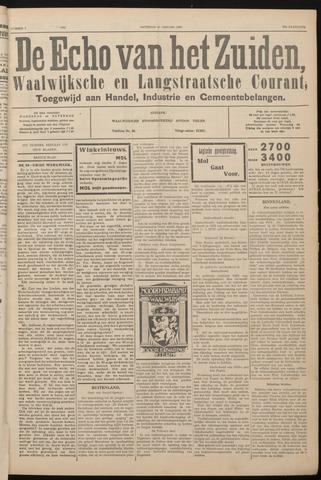 Echo van het Zuiden 1933-01-21