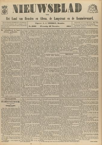 Nieuwsblad het land van Heusden en Altena de Langstraat en de Bommelerwaard 1911-11-29