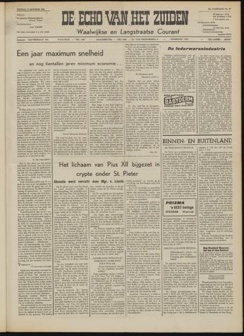 Echo van het Zuiden 1958-10-17