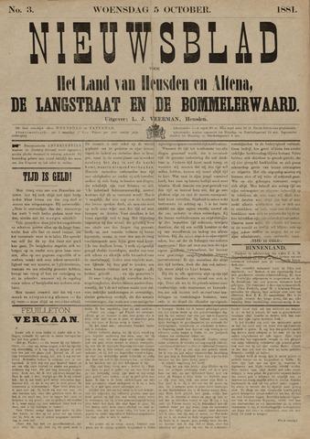 Nieuwsblad het land van Heusden en Altena de Langstraat en de Bommelerwaard 1881-10-05