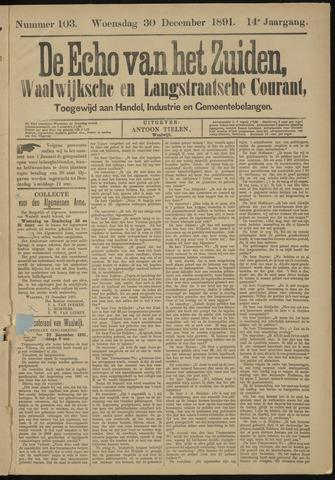 Echo van het Zuiden 1891-12-30