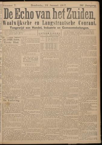 Echo van het Zuiden 1907-01-24