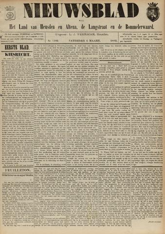 Nieuwsblad het land van Heusden en Altena de Langstraat en de Bommelerwaard 1893-03-04