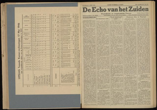 Echo van het Zuiden 1946-05-21