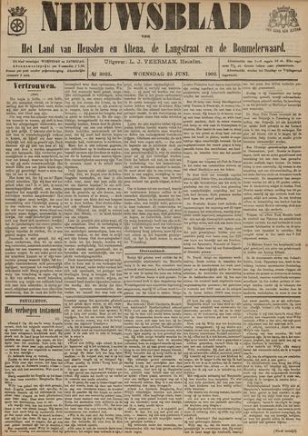 Nieuwsblad het land van Heusden en Altena de Langstraat en de Bommelerwaard 1902-06-25