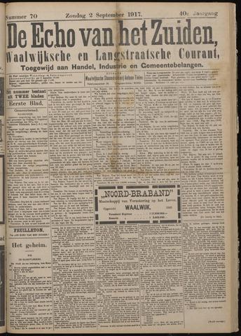 Echo van het Zuiden 1917-09-02