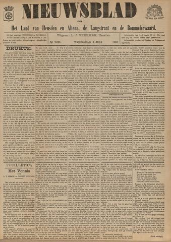 Nieuwsblad het land van Heusden en Altena de Langstraat en de Bommelerwaard 1901-07-03