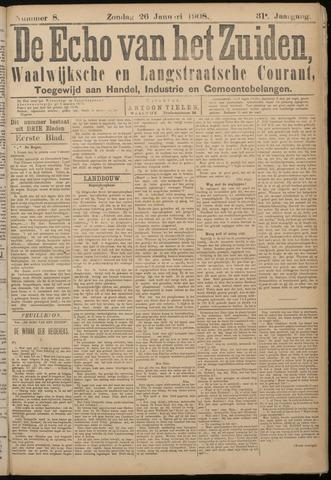 Echo van het Zuiden 1908-01-26
