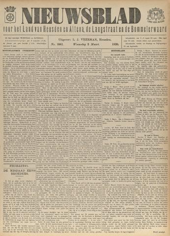 Nieuwsblad het land van Heusden en Altena de Langstraat en de Bommelerwaard 1920-03-03